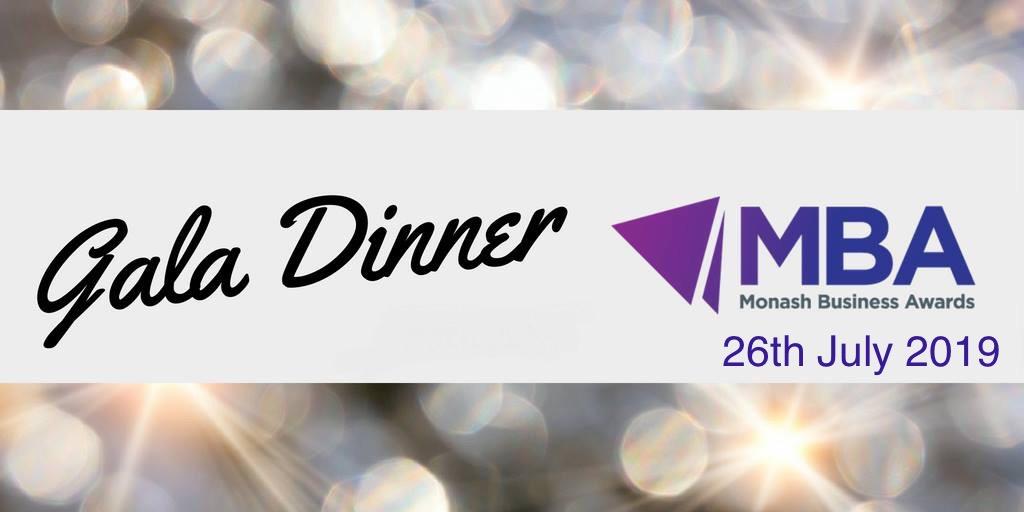 Monash Business Awards Gala Evening