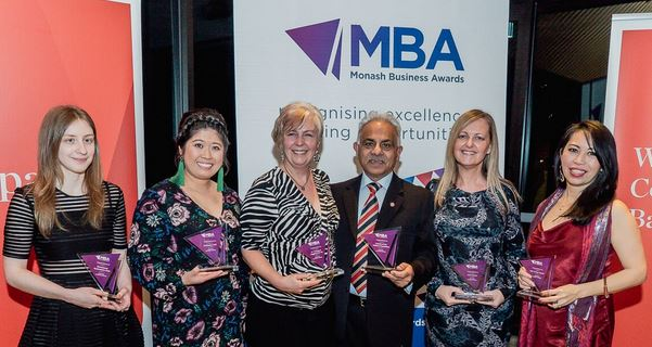 Monash Business Awards Category Winners 2019